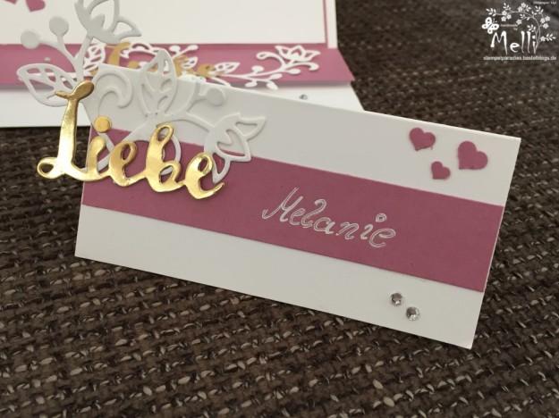 Stampin Up, Hochzeit, Einladung, Karten, Tischkarte, Menü, Mellis Stempelparadies, Zarte Pflaume (7)