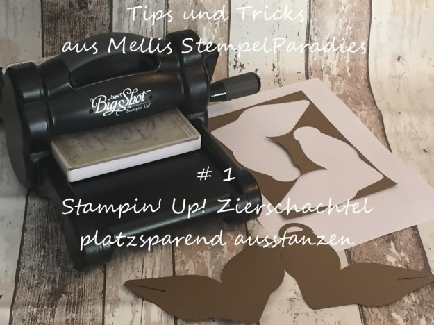Stampin Up, Zierschachtel, Tutorial, Mellis Stempelparadies