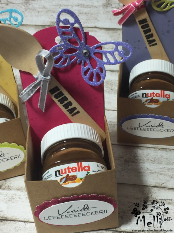 Stampin Up, Mini-Nutella, Box Nutellabox, Mellis Stempelparadies (7)