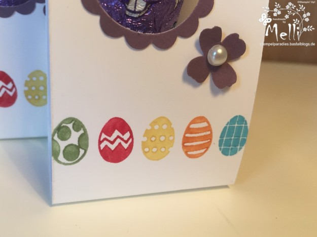 Stampin Up Osterverpackung Milka Hase3