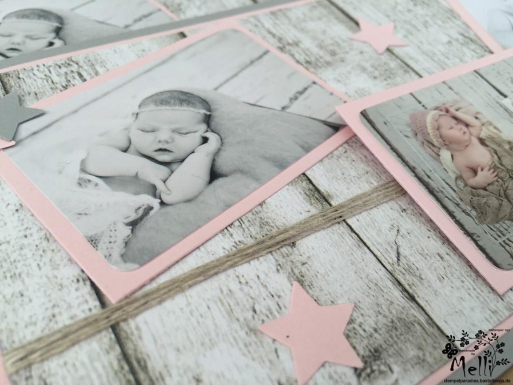Stampin Up, Dankeskarte, Geburt (5)