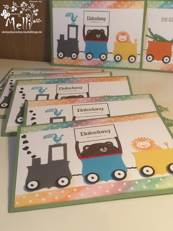 Stampin Up Ziehkarte Zoo Babies  (1) (Kopie)