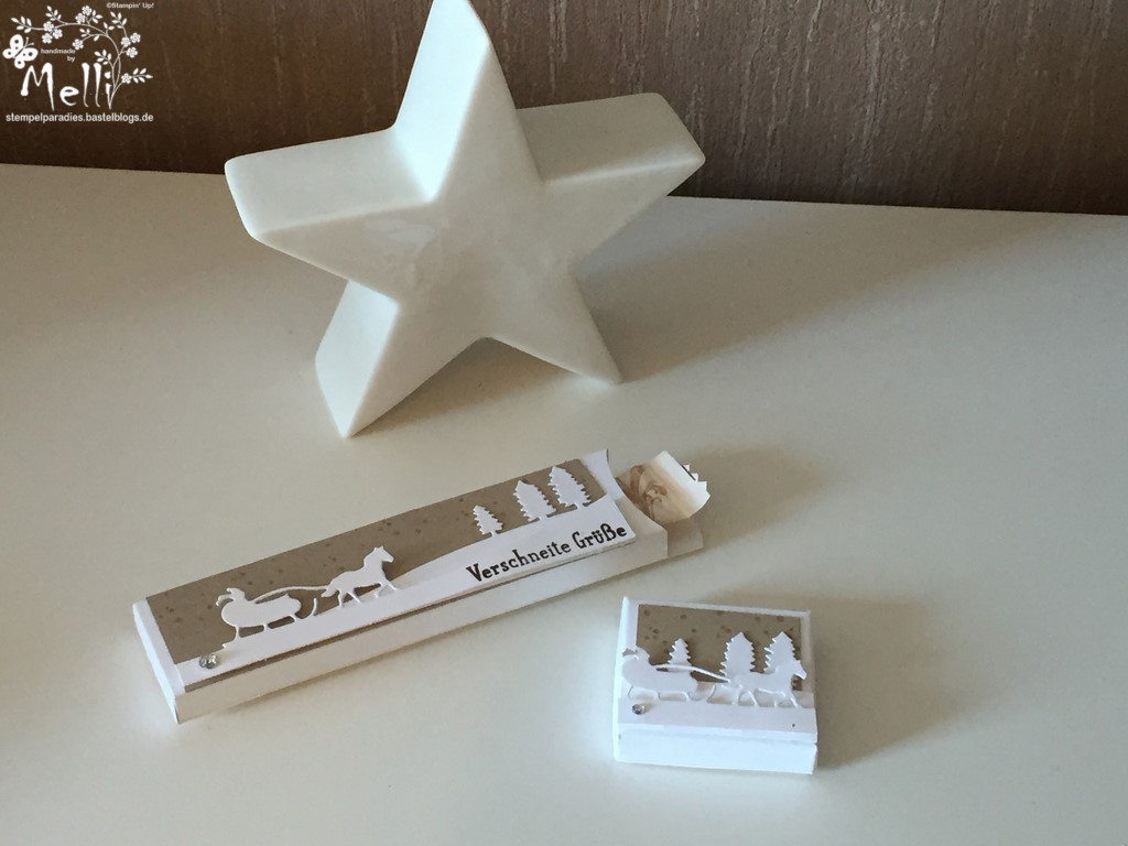 Stampin Up, Framelits Schlittenfahrt, Weihnachten, Verpackungen (1) (Kopie)