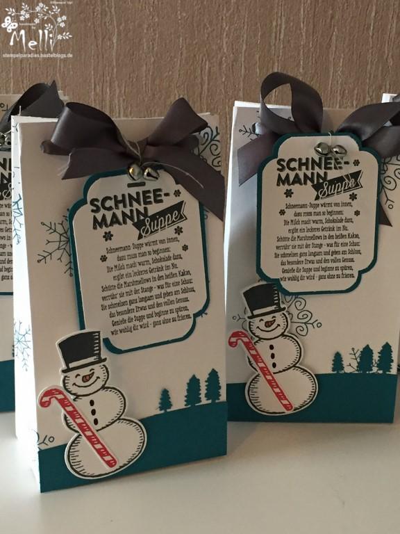 Schneemannsuppe, Stampin Up, Punchboard für Geschenktüten, Mellis Stempelparadies (3) (Kopie)