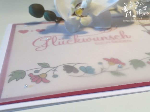 Stampin Up, Hochzeitskarte, Bordering Blooms (3) (Kopie)