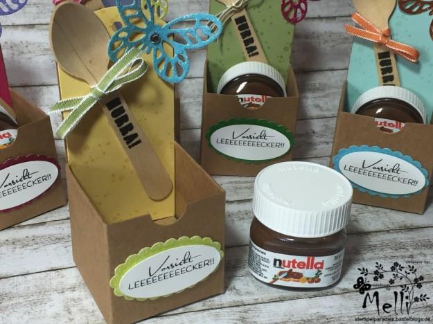 Stampin Up, Mini-Nutella, Box Nutellabox, Mellis Stempelparadies (3)