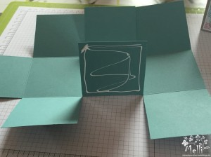 Stampin Up, Anleitung, Viereckige Box, One Sheet Box (2) (Kopie)