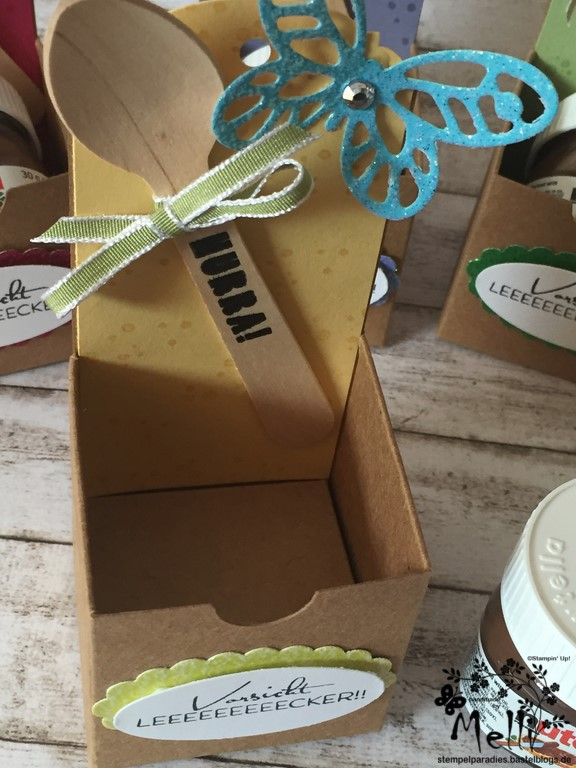Stampin Up, Mini-Nutella, Box Nutellabox, Mellis Stempelparadies (4)
