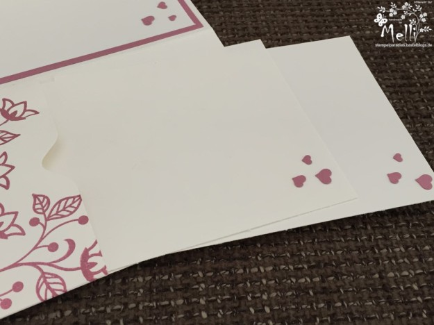 Stampin Up, Hochzeit, Einladung, Karten, Tischkarte, Menü, Mellis Stempelparadies, Zarte Pflaume (4)