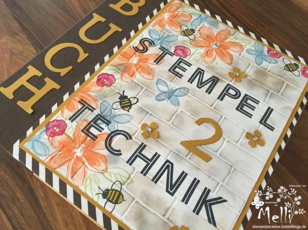 Stempeltechnikbuch 2, Stampin Up, Mellis Stempelparadies, Garden in Blooms (1) (Kopie)