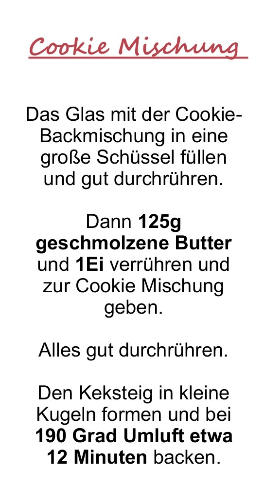 Liste Cookies