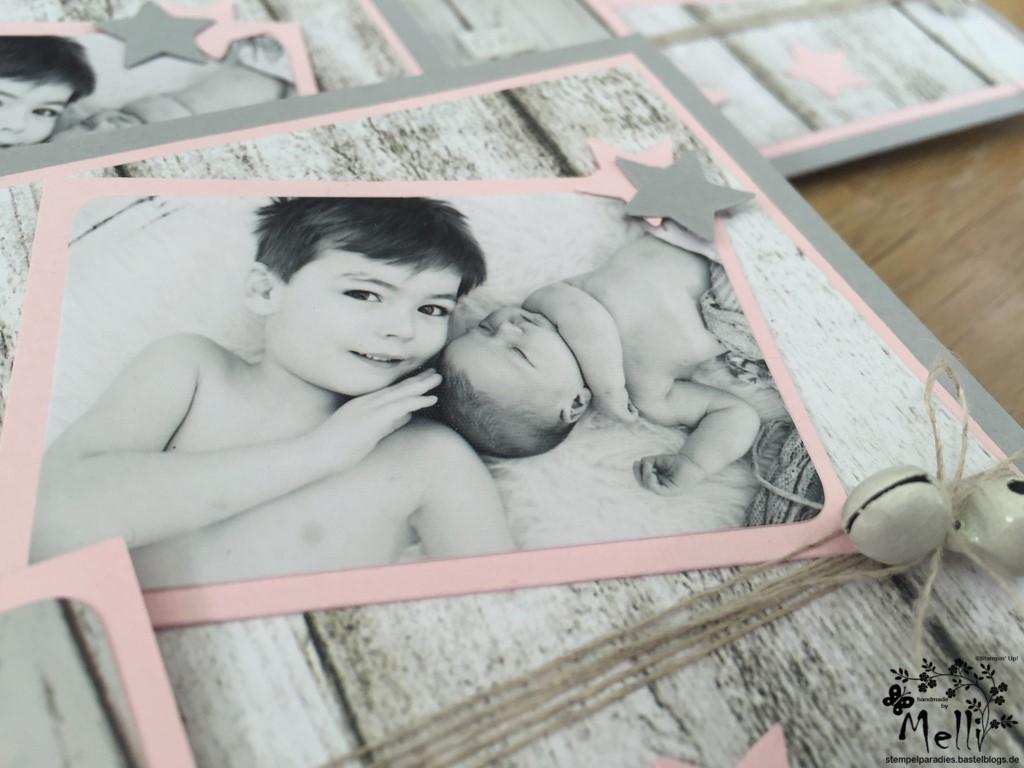 Stampin Up, Dankeskarte, Geburt (6)