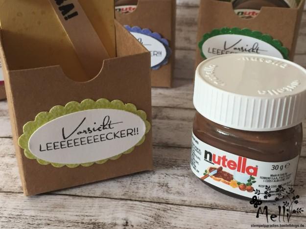 Stampin Up, Mini-Nutella, Box Nutellabox, Mellis Stempelparadies (5)