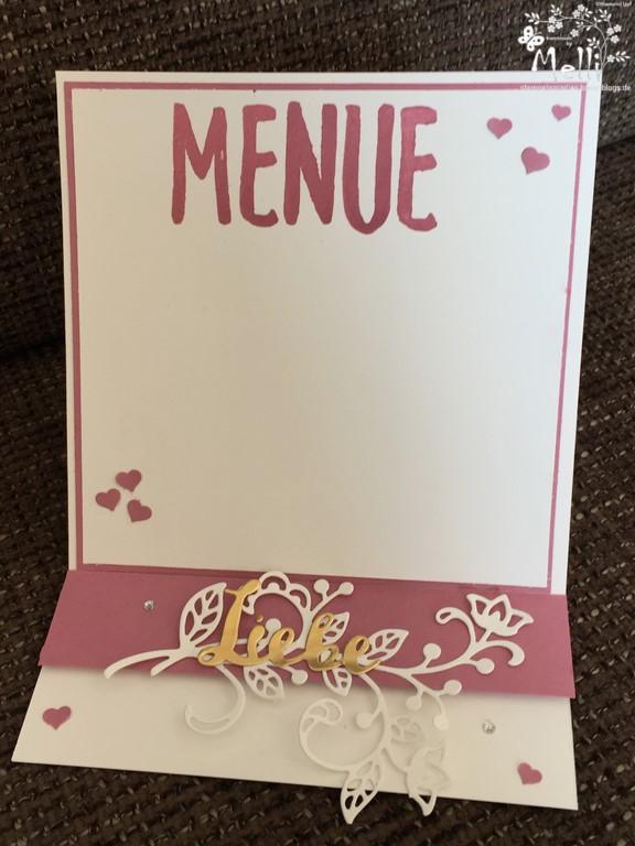 Stampin Up, Hochzeit, Einladung, Karten, Tischkarte, Menü, Mellis Stempelparadies, Zarte Pflaume (10)