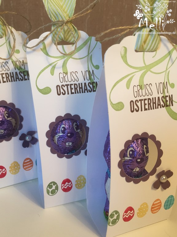 Stampin Up Osterverpackung Milka Hase2