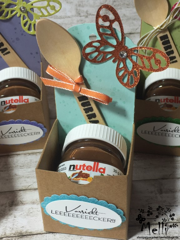 Stampin Up, Mini-Nutella, Box Nutellabox, Mellis Stempelparadies (8)