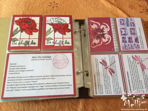 Stempeltechnikbuch 2, Stampin Up, Mellis Stempelparadies, Garden in Blooms (7) (Kopie)