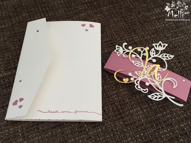 Stampin Up, Hochzeit, Einladung, Karten, Tischkarte, Menü, Mellis Stempelparadies, Zarte Pflaume (1)