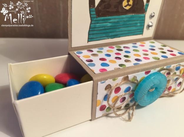 Kindergeburtstag, Verpackung, Stampin Up (2)