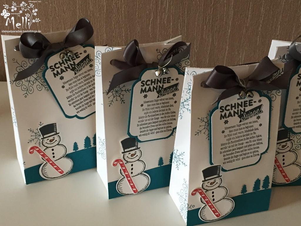 Schneemannsuppe, Stampin Up, Punchboard für Geschenktüten, Mellis Stempelparadies (2) (Kopie)