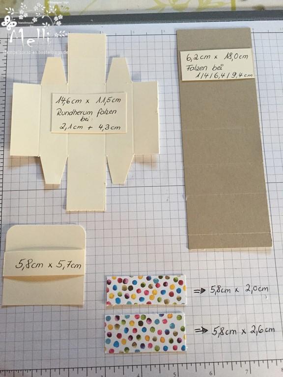 Anleitung, Verpackung für Küsschen, Stampin Up
