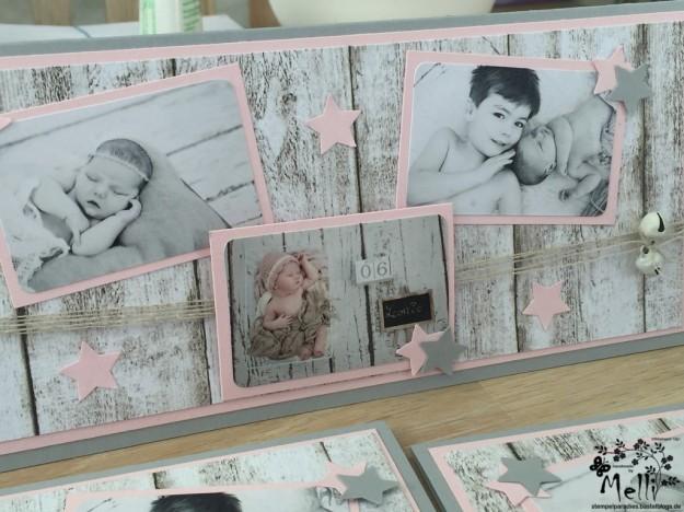 Stampin Up, Dankeskarte, Geburt (7)