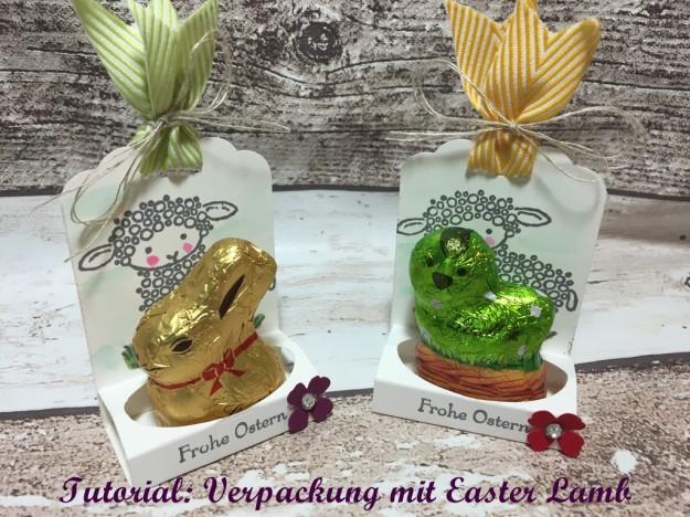 Stampin Up, Easter Lamb, Verpackung