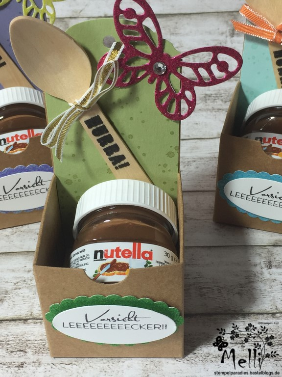 Stampin Up, Mini-Nutella, Box Nutellabox, Mellis Stempelparadies (1)